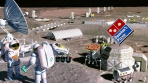 Dominos Pizza Moon Base