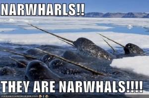 Narwhal Jedi Army
