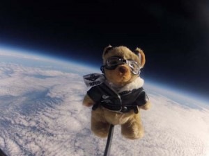 Strato Bear 5 in Space